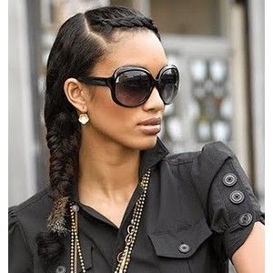 very stylish and protective hairstyle for natural hair