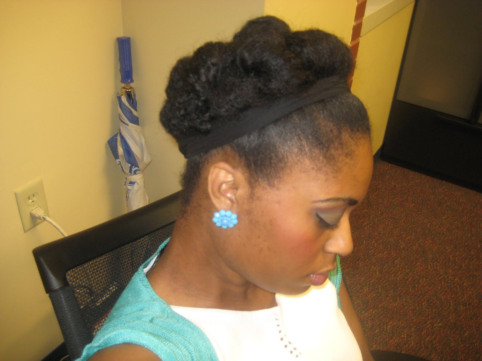I M A Waist Length 4b 4c Natural And Can Retain Without Protective Styling Black With Long Hair