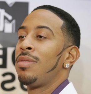 Hair fading at theory hair salon how to fade hair hair style ludacris wears his fade with customized sideburns urmus Choice Image