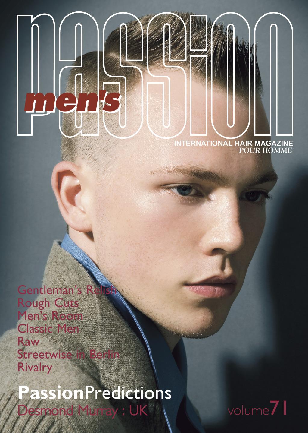 Фото мужских причесок из журналов