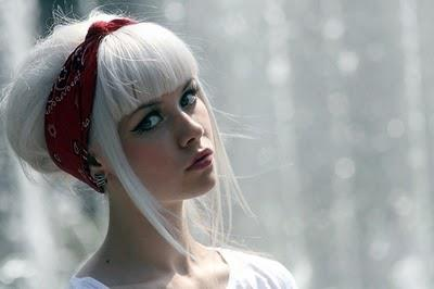 Sensational Hair Color Ideas For 2012 White Is In Hair Style Trends And Tips Short Hairstyles Gunalazisus