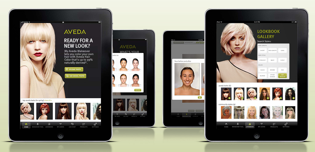 New Hairstyles With High Tech Aveda Apps | Hair Style Trends and Tips