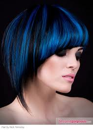 Blue highlights hair style trends and tips highlights can be as dense or sparse as youd like pmusecretfo Choice Image
