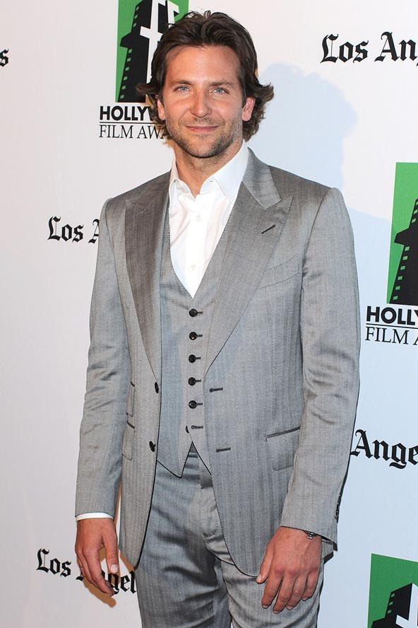 bradley cooper brunette locks