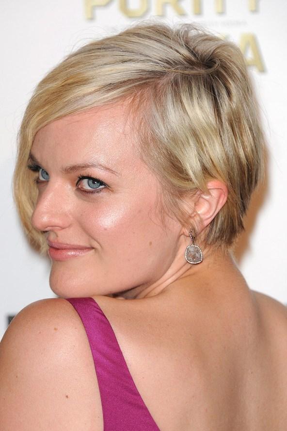elizabeth moss short hairstyle