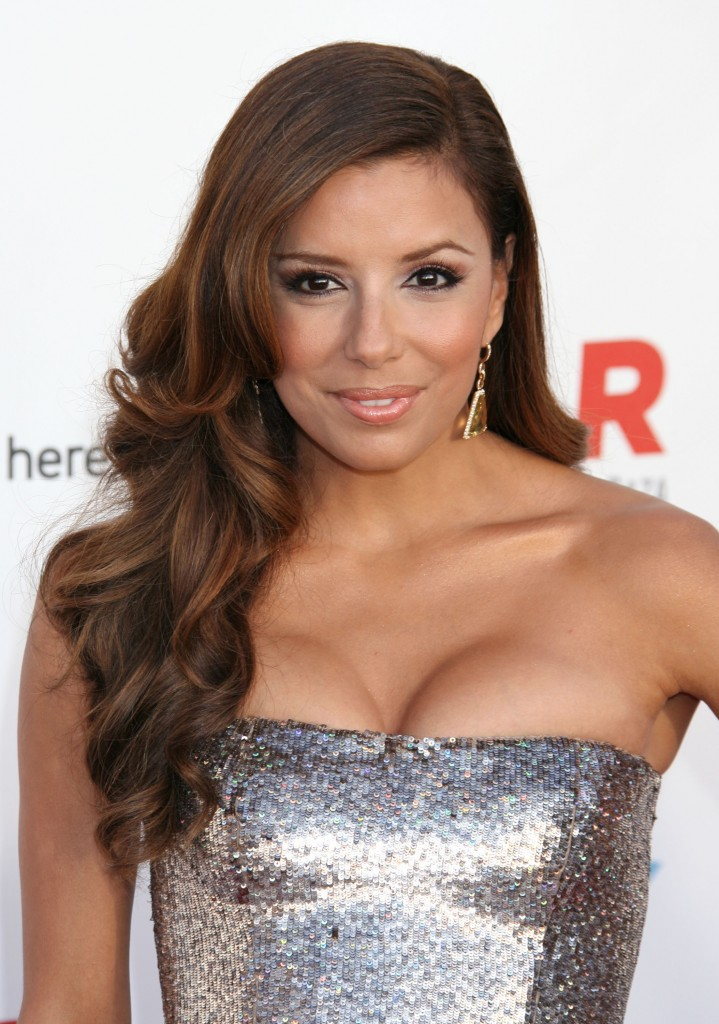 eva-longoria-long-side-swept-curly-hairstyle