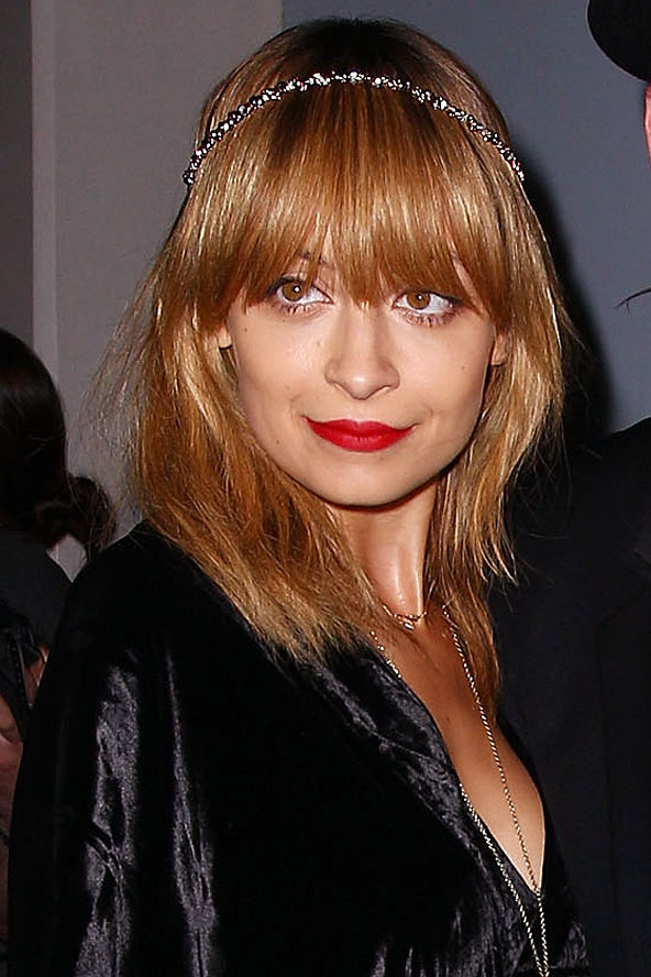 nicole richie eye length fringe