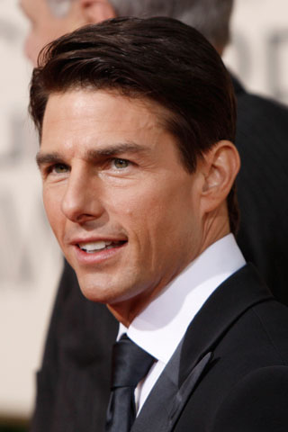 tom cruise simple attractive hair