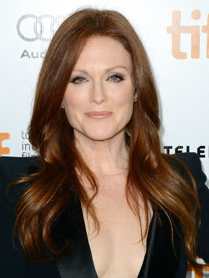 julianne-moore's long shiny mane