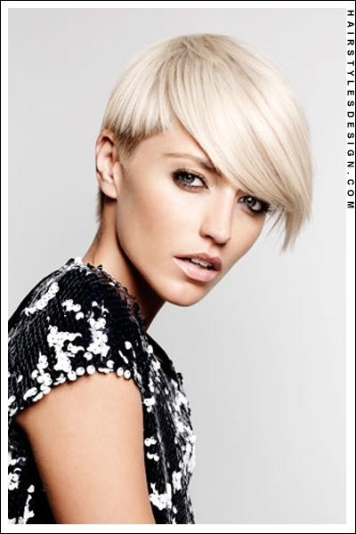 pixie blonde style