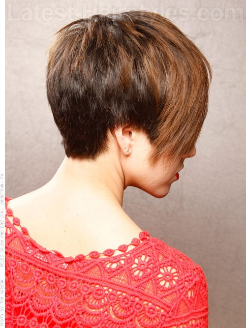 Backview Short Hair Cuts