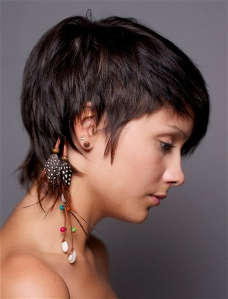 short stylish hair cut
