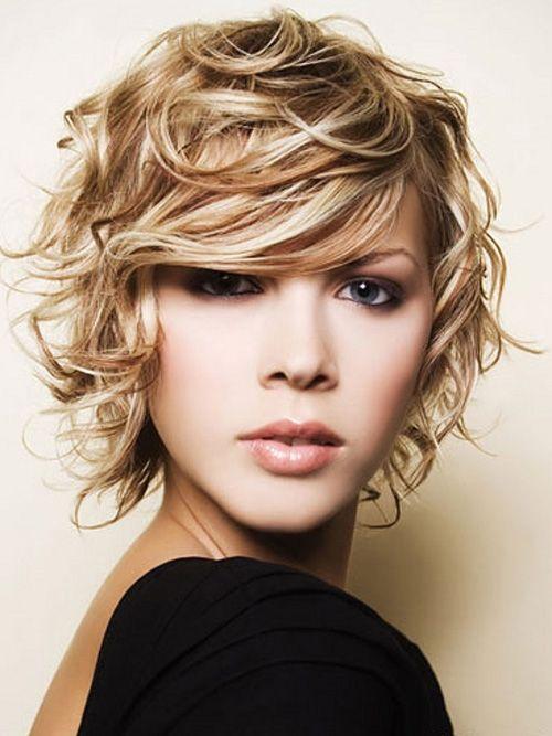 wavy messy blonde