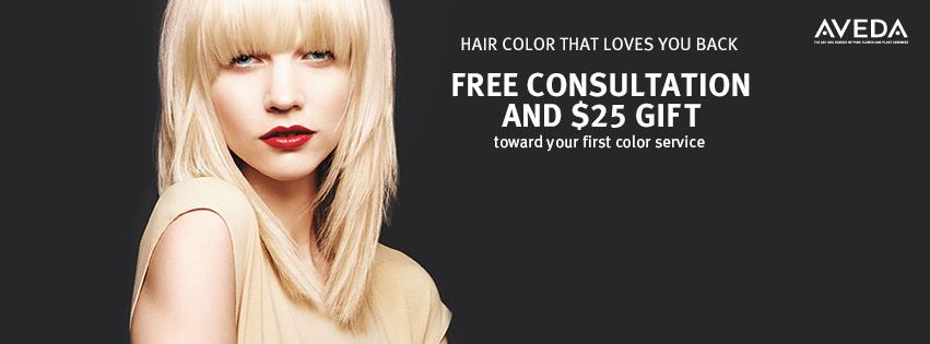 $25 GIFT FOR AVEDA COLOR