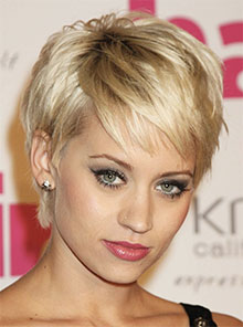 shag pixie hairstyle